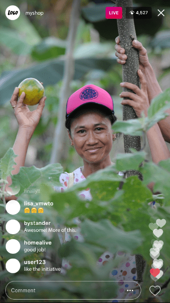 Baumpflanzprojekte: Kommuniziere mit dein grünes Engagement mit voller Transparenz in Sozialen Medien.