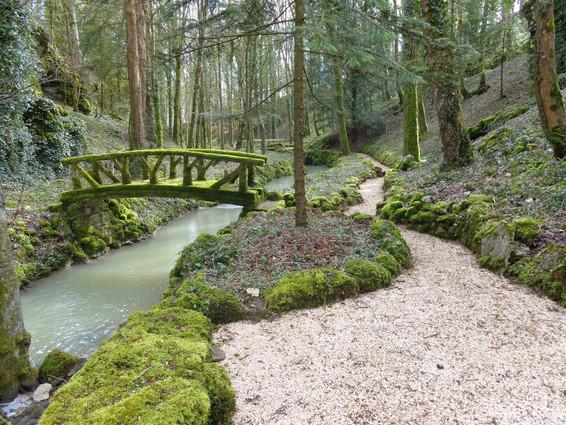 """Arrière jardin dit """"le vallon"""""""