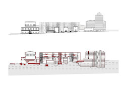 Chapter 06c Stockholm Public Library Addition elevation and section  DONE
