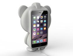 006_iphone case standing regular panda with fat feet_back