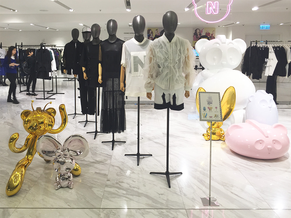 Chapter 02b Nicola Formichetti Store Hong Kong with clothes DONE