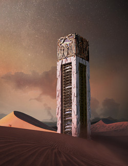 car tower ad diriyah