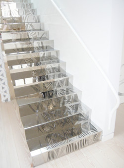 Chapter 12d Penthouse in Downtown Manhattan stairs close up DONE_1000