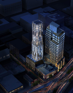 luxury high rise new york