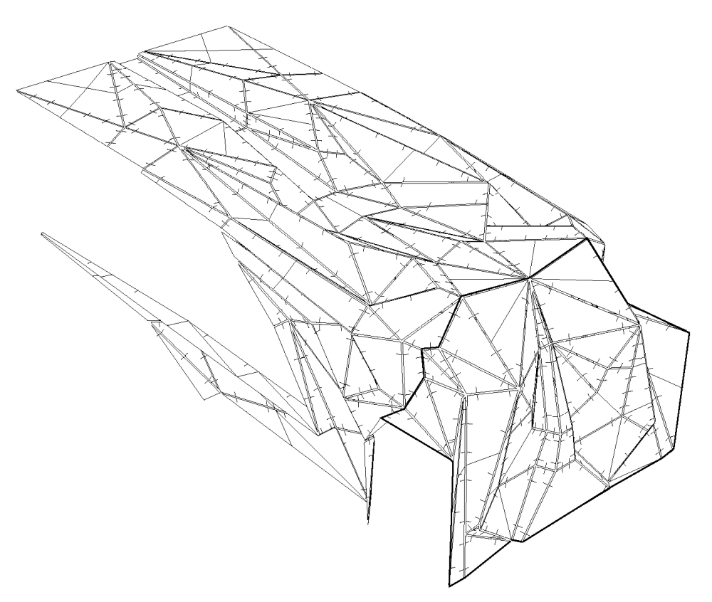 Chapter 02a Nicola Formichetti Store New York City diagram wireframe axon DONE_1000 - Copy