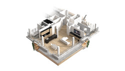 Chapter 07a Seattle WSDOT Housing Interior Axon