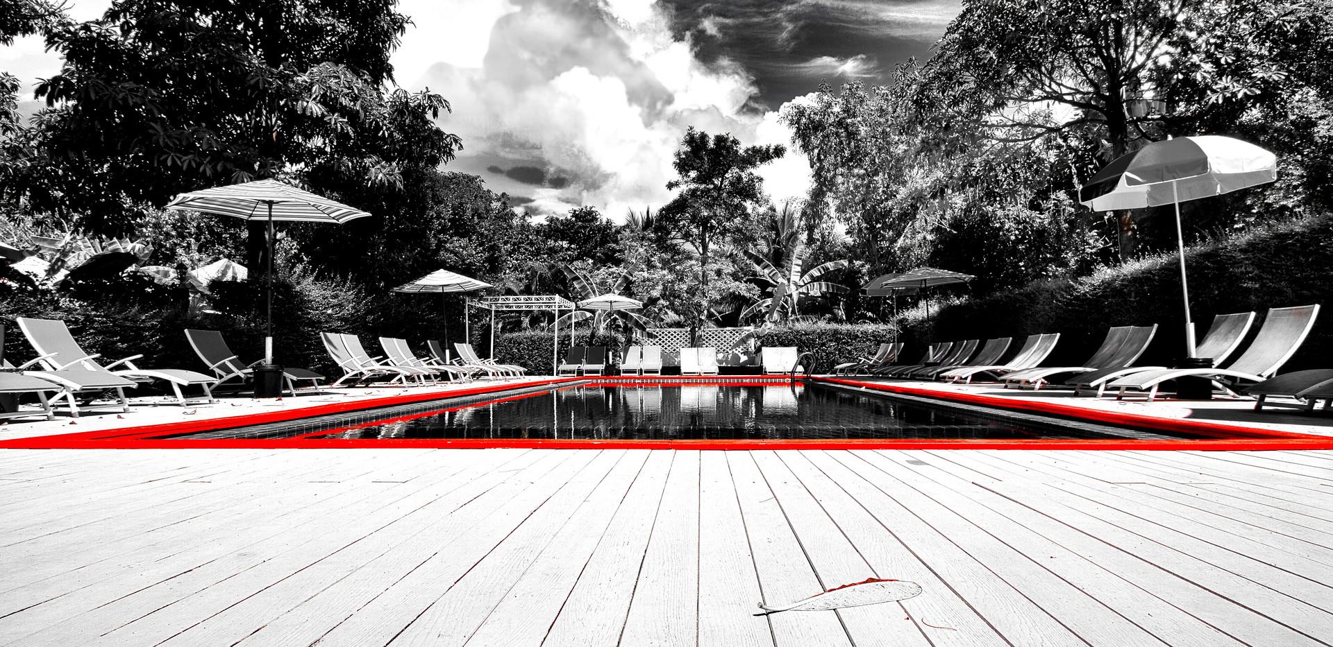 Red Stroke Pool