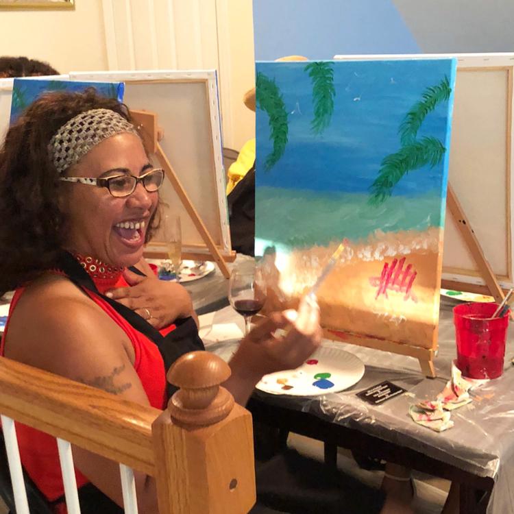 Canvas Paint Party Deposit- $45pp