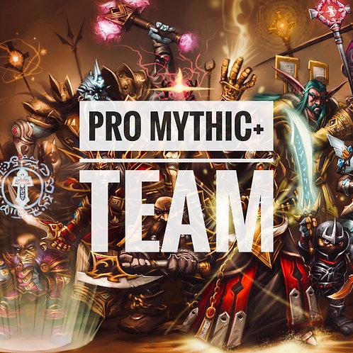 Rent a PRO M+ team
