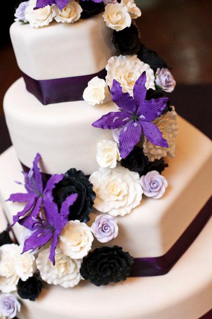 White,Purple & Black