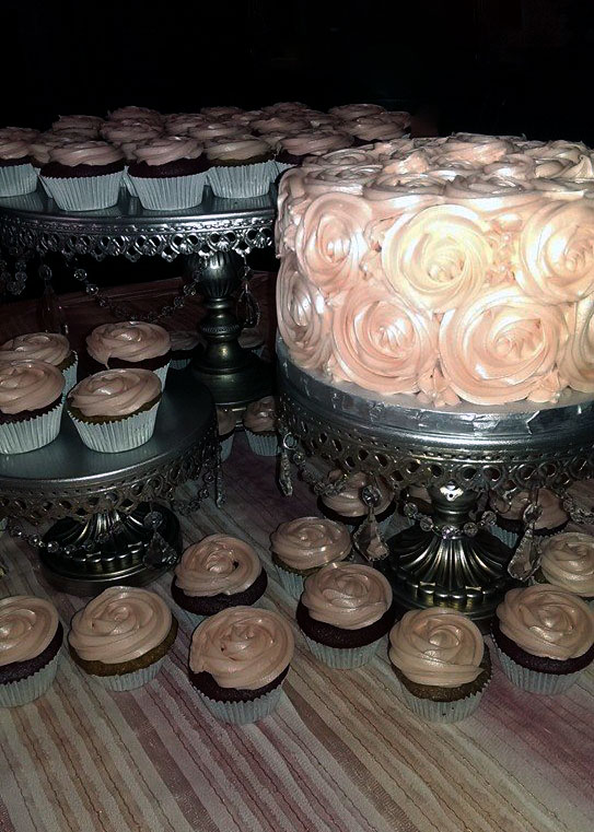 Piped Rosettes