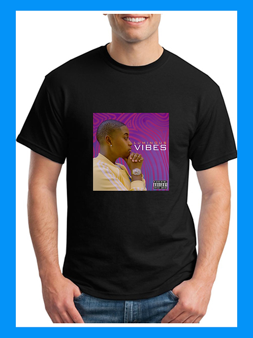 VIBES - Cover Tee (Black)