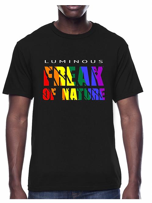 FREAK OF NATURE - (PRIDE) SINGLE TEE BLACK