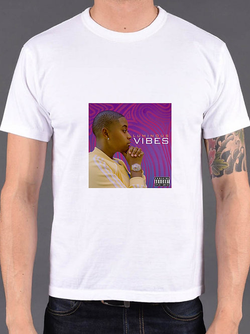 VIBES - Cover Tee (White)