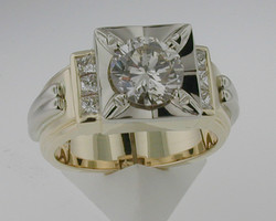 Gents 2 ct. Ring