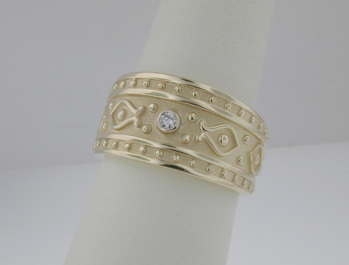 Etruscan Diamond Ring