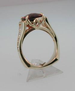 Garnet Ring side