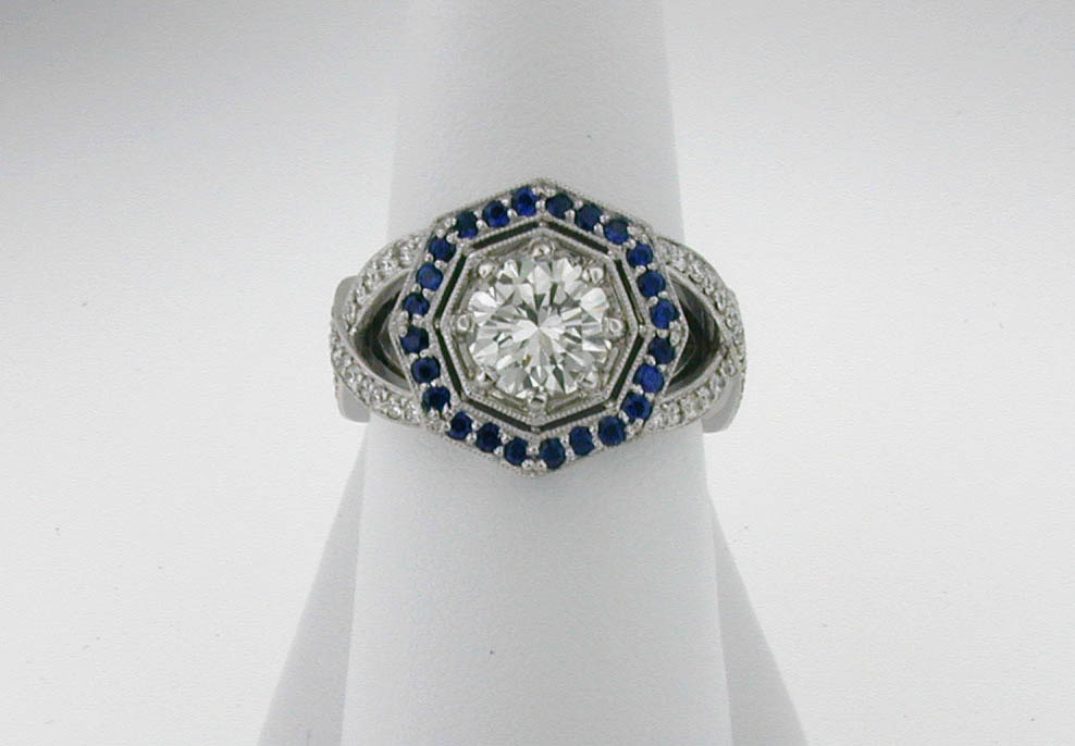 Deco Diamond ring 02