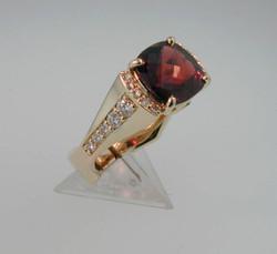 Garnet Ring top