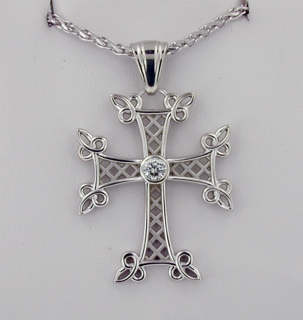 Lattice Armenian Cross