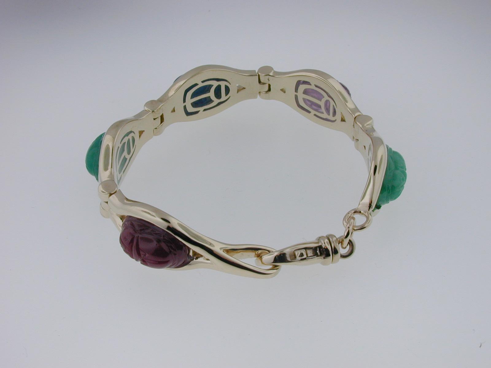 Scarab Bracelet 02