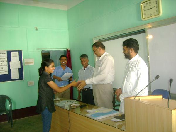 Pk siddharth distributing certificates