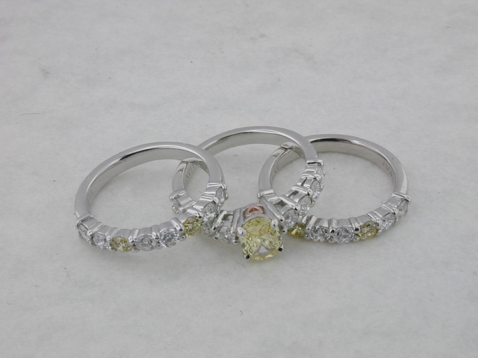 Yellow Diamond Set