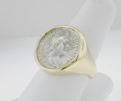 Gents Coin Ring
