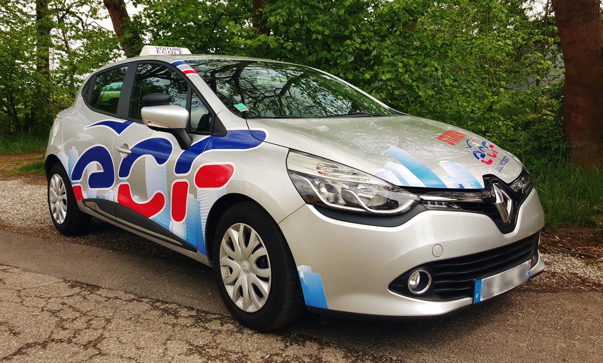 Nos voitures ECF - Clio 4
