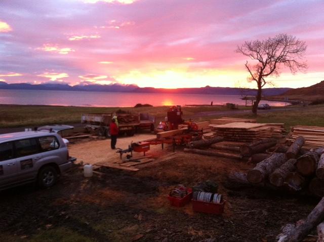 James Nairn Mobile Sawmill