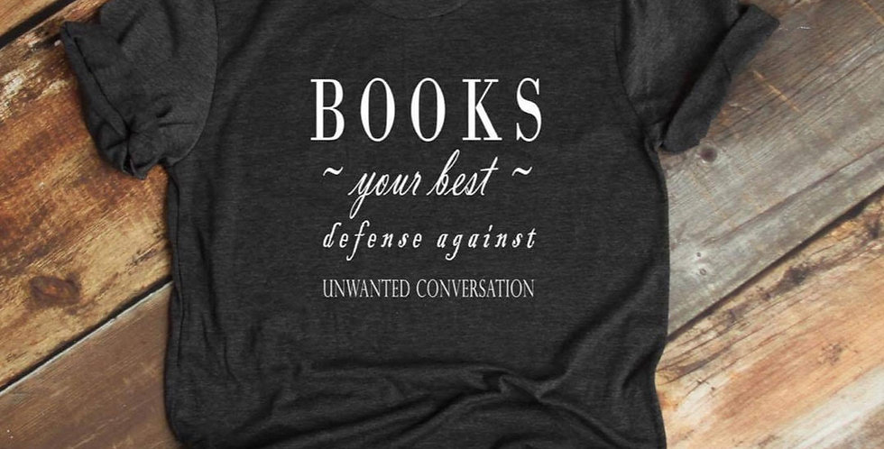 Books Your Best Defense T-Shirt Pre-Order