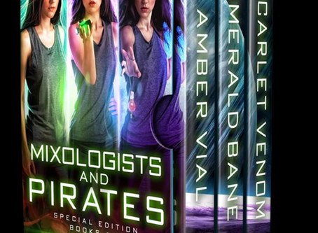 Have you read the Mixologists and Pirates series yet?