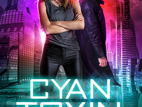 Cyan Toxin- Book 4 of Mixologists & Pirates