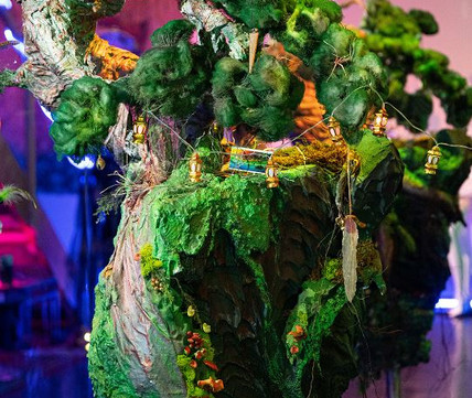 Mystical Bonsai Tree Sculpture