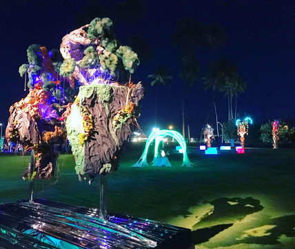Bonsai Tree Installation Sculpture