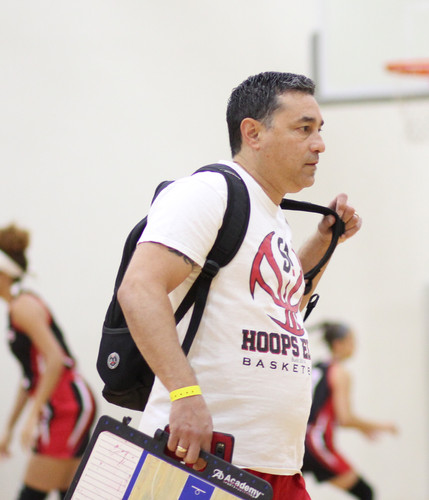 Assistant Coach Rudy Herrera