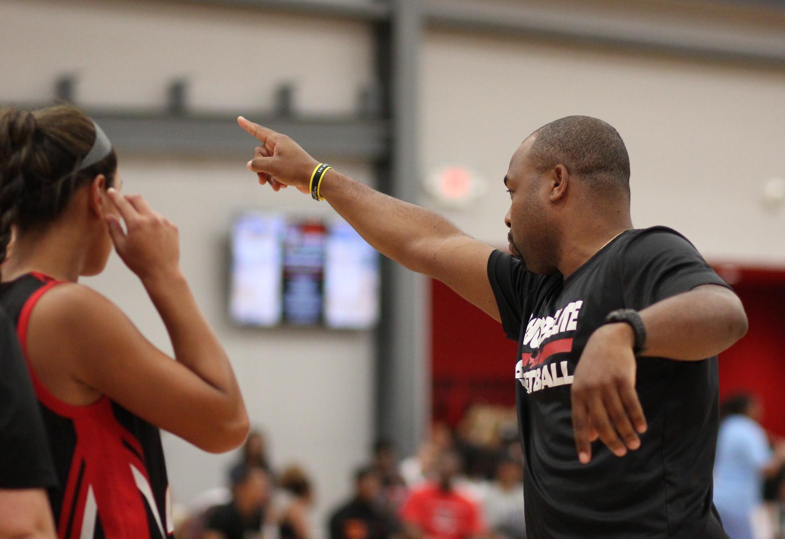 Head Coach Javasse Kearney