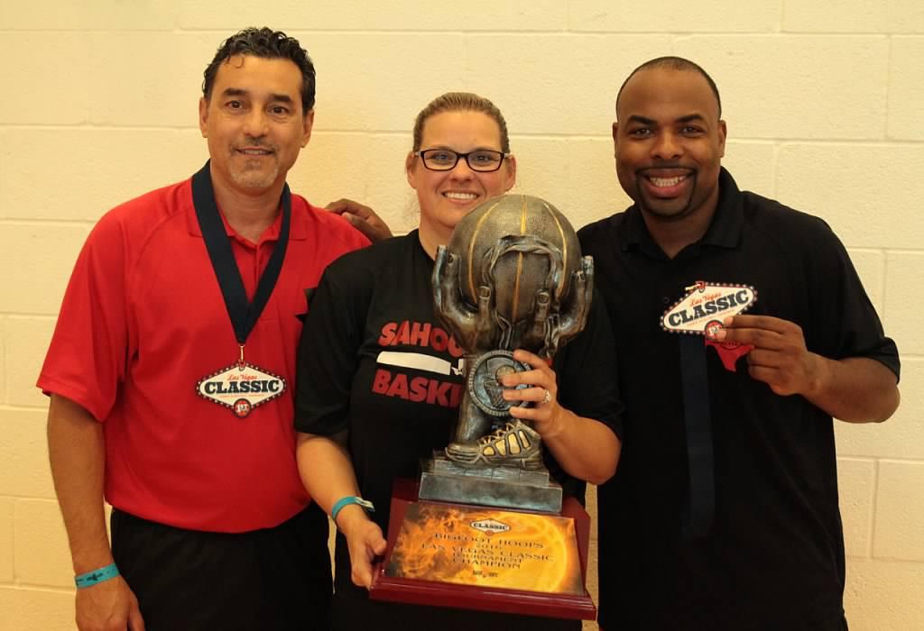 Head Coach Javasse Kearney, Asst. Coach Rudy Herrera, Asst. Coach Shannon Bowen