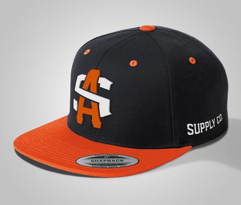 be8a5ac6 Sport-Tek® Yupoong® Flat Bill Snapback Cap