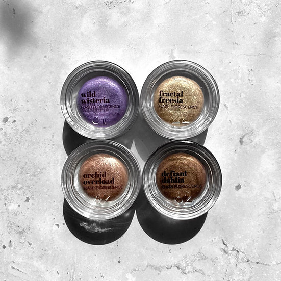 Flash Florescence Cream Shadows - In Bloom Collection