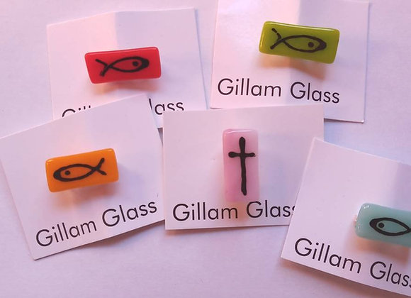 Glass Badges