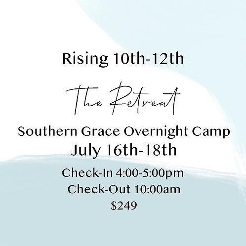 Rising 10th-12th Grade Overnight Camp