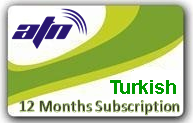 Turkish TV Package 12 months