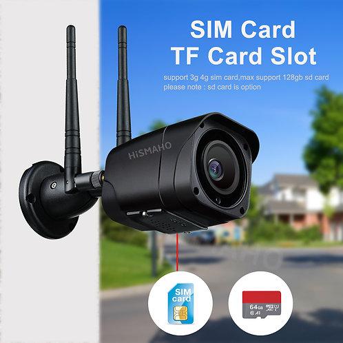 4G 5MP Bullet Buiten Camera