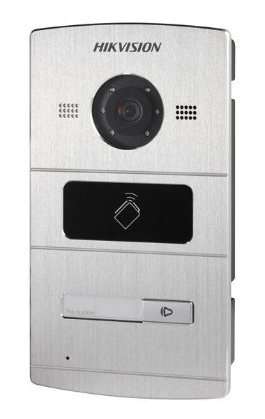 DS-KV8102-IM 1 beldrukker, IR verlichting