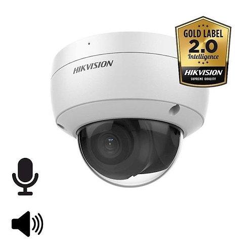 DS-2CD2146G2-ISU, 4MP, 2.8mm, microfoon en speaker, 30m IR, WDR, Ultra Low Light