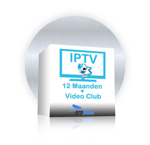 LIFE IPTV SILVER 1 year subscription 1500+ zenders