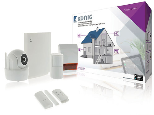 KONIG Smart Home Security-Set Wi-Fi / 868 Mhz SAS-CLALARM10