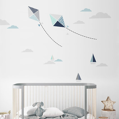 Kites Wallsticker
