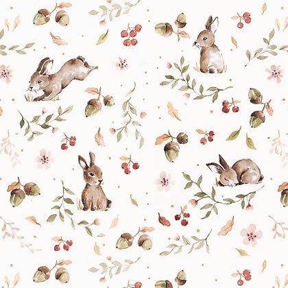 Happy Rabbits Wallpaper